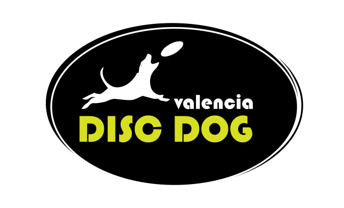 logotipo escuela disc dog  valencia